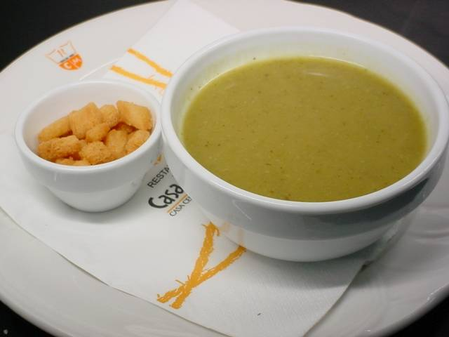 Cream of Vegetable Soup-