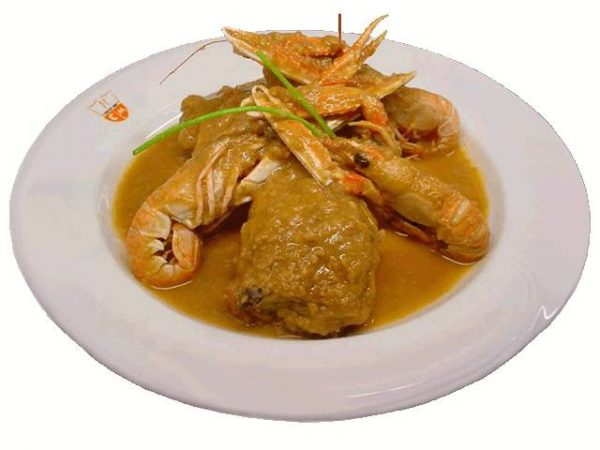 Chicken With Scampi